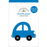 Doodlebug Design - Doodle-Pops - 3 Dimensional Cardstock Stickers - Puddle Jumper