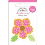 Doodlebug Design - Doodle-Pops - 3 Dimensional Cardstock Stickers - Sew Pretty