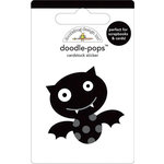 Doodlebug Design - Doodle-Pops - 3 Dimensional Cardstock Stickers - Batty