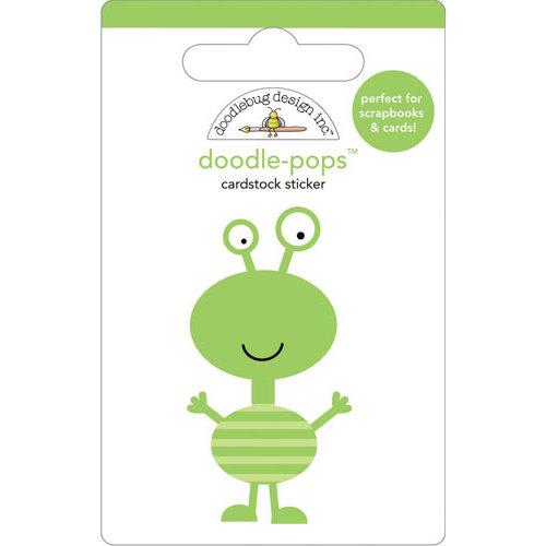 Doodlebug Design - Doodle-Pops - 3 Dimensional Cardstock Stickers - Boogie