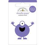 Doodlebug Design - Doodle-Pops - 3 Dimensional Cardstock Stickers - Boo