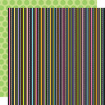 Doodlebug Design - Colorwheel Collection - 12 x 12 Double Sided Paper - Kite Strings