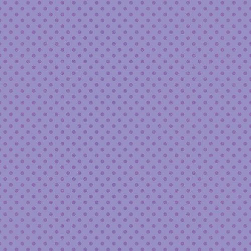 Doodlebug Design - Sugar Coated Cardstock - 12 x 12 Spot Glittered Cardstock - Lilac