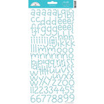 Doodlebug Design - Alphabet Cardstock Stickers - Doodle Twine - Swimming Pool