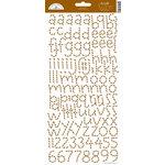 Doodlebug Design - Alphabet Cardstock Stickers - Doodle Twine - Bon Bon