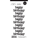 Doodlebug Design - Doodles - Cardstock Stickers - Happy Birthday - Beetle Black