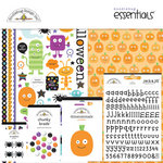 Doodlebug Design - Monster Mania Collection - Halloween - Essentials Kit