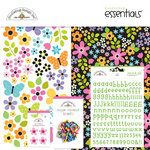 Doodlebug Design - Colorwheel Collection - Essentials Kits