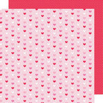 Doodlebug Design - Sweet Cakes Collection - 12 x 12 Double Sided Paper - Hugs and Kisses