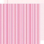 Doodlebug Design - Sweet Cakes Collection - 12 x 12 Double Sided Paper - Valentine Twine
