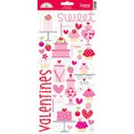 Doodlebug Design - Sweet Cakes Collection - Sugar Coated Cardstock Stickers - Icons