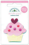 Doodlebug Design - Sweet Cakes Collection - Doodle-Pops - 3 Dimensional Cardstock Stickers - Baby Cake