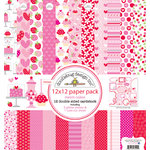Doodlebug Design - Sweet Cakes Collection - 12 x 12 Paper Pack