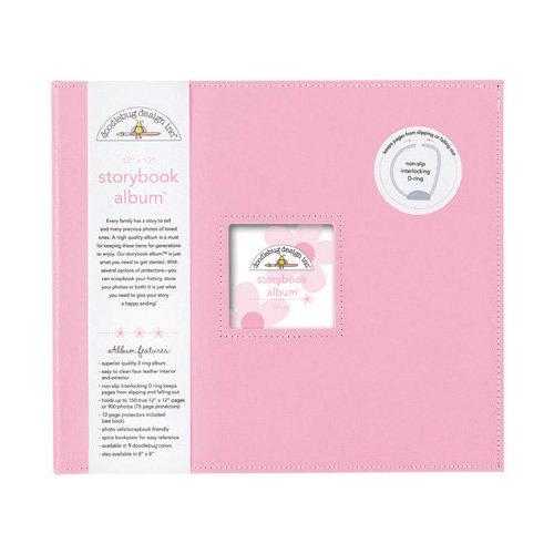 Doodlebug Design - 12 x 12 Storybook Album - Cupcake