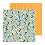 Doodlebug Design - Boys Only Collection - 12 x 12 Double Sided Paper - Anyway