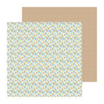 Doodlebug Design - Snips and Snails Collection - 12 x 12 Double Sided Paper - Cheery O's