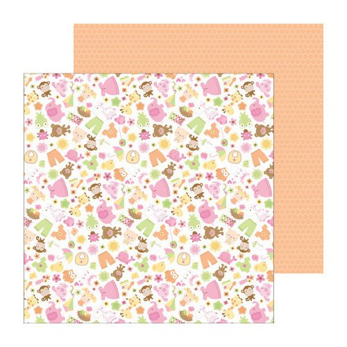 Doodlebug Design - Sugar and Spice Collection - 12 x 12 Double Sided Paper - Sugar and Spice