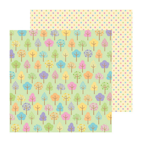 Doodlebug Design - Hello Spring Collection - 12 x 12 Double Sided Paper - Happy Valley
