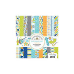 Doodlebug Design - Boys Only Collection - 6 x 6 Paper Pad