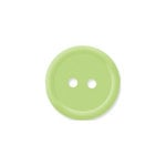 Doodlebug Design - Oodles - Buttons - Round - 19 mm - Limeade