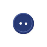 Doodlebug Design - Oodles - Buttons - Round - 19 mm - Blue Berry