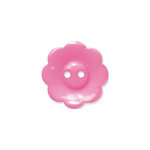 Doodlebug Design - Oodles - Buttons - Flower - 19 mm - Bubblegum