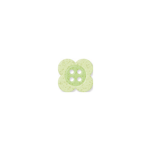 Doodlebug Design - Oodles - Buttons - Clover - 13 mm - Limeade