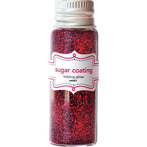 Doodlebug Design - Sugar Coating Metallic Glitter - Ladybug