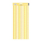 Doodlebug Design - Cardstock Stickers - Fancy Frills - Bumblebee