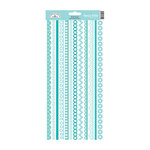 Doodlebug Design - Cardstock Stickers - Fancy Frills - Swimming Pool