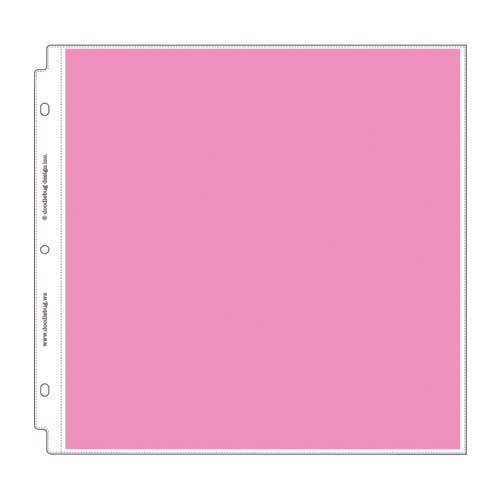 Doodlebug Design - 12 x 12 Storybook Album Protectors - Layout - 12 Pack