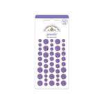 Doodlebug Design - Jewels Adhesive Rhinestones - Lilac