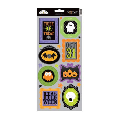 Doodlebug Design - Haunted Manor Collection - Halloween - Cardstock Stickers - Frames