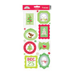 Doodlebug Design - North Pole Collection - Christmas - Cardstock Stickers - Frames