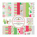Doodlebug Design - North Pole Collection - Christmas - 12 x 12 Paper Pack