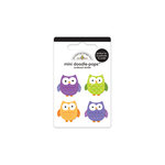 Doodlebug Design - Haunted Manor Collection - Halloween - Doodle-Pops - 3 Dimensional Cardstock Stickers - Mini - Wise Guys