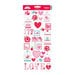 Doodlebug Design - Lovebirds Collection - Cardstock Stickers - Icons