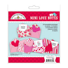 Doodlebug Design - Lovebirds Collection - Mini Love Notes