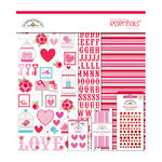 Doodlebug Design - Lovebirds Collection - Essentials Kit