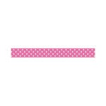 Doodlebug Design - Washi Tape - Bubblegum Swiss Dot