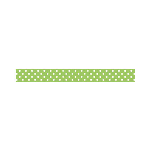 Doodlebug Design - Washi Tape - Limeade Swiss Dot