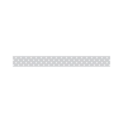Doodlebug Design - Washi Tape - Grey Swiss Dot