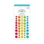 Doodlebug Design - Take Note Collection - Jewels - Adhesive Rhinestones