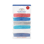 Doodlebug Design - Stars and Stripes Collection - Doodle Twine - Red, White and Blue - Assortment