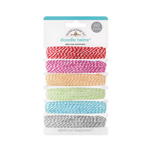 Doodlebug Design - Take Note Collection - Doodle Twine - Assortment