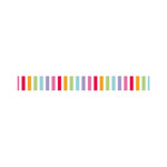 Doodlebug Design - Fruit Stand Collection - Washi Tape - Fruity Stripe