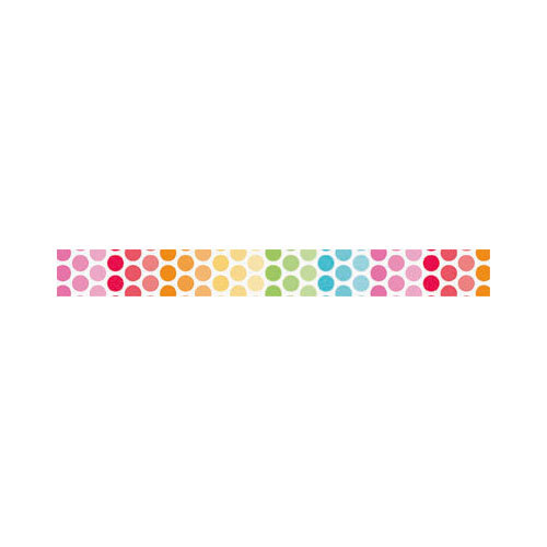 Doodlebug Design - Take Note Collection - Washi Tape - Ditto Dots