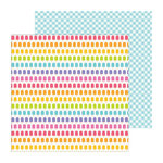 Doodlebug Design - Fruit Stand Collection - 12 x 12 Double Sided Paper - Fruit Pops