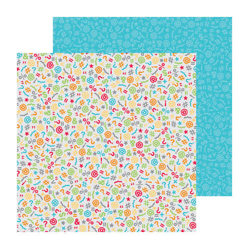 Doodlebug Design - Take Note Collection - 12 x 12 Double Sided Paper - Expressions