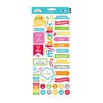 Doodlebug Design - Take Note Collection - Cardstock Stickers - Icons